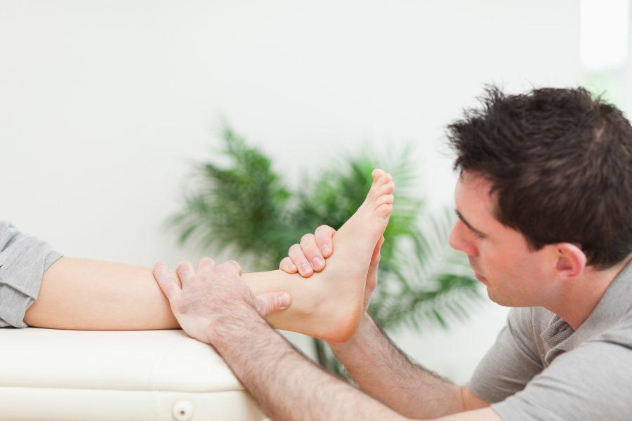 Entorse cheville et douleur cheville